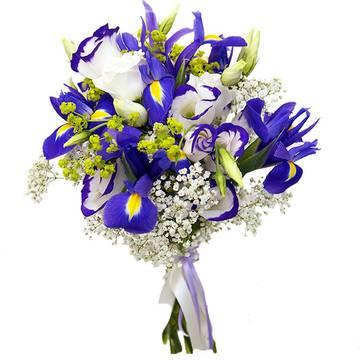 Фото композиции нежных цветов