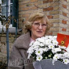 Белые ромашки с доставкой для мамы - фото